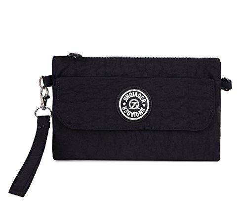 Ligero Bolsas Deporte Bolso Pequeña Escuela Bag Bolso Negro Moda Outreo de para Bolsas Impermeable Sport de de Mano Mujer Casual Bandolera Fxg687