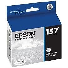 Epson T157920 OEM Ink - (157) Stylus Photo R3000 Light Light Black UltraChrome K3 Ink Cartridge OEM