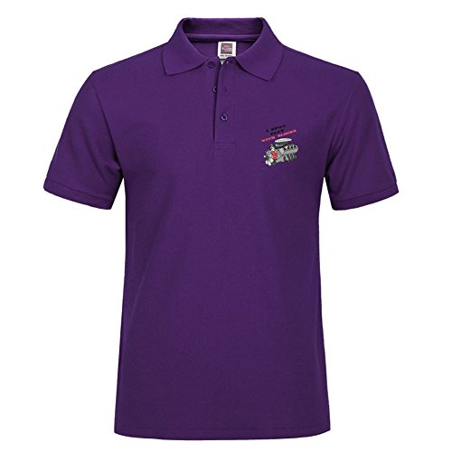 (Casual Performance Polo Shirt Breathable Short Sleeve Tee I Still Play With Blocks Specail Style For Men)