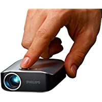 Philips Picopix PPX2055/F7 Pico Projector, 55 Lumens, 4.1 Oz, USB for PC