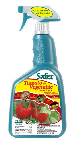 Safer Brand 32 oz Ready To Use Tomato & Vegetable Insect Killer 5085