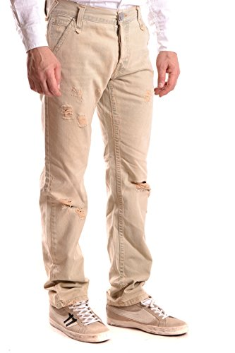 Richmond Hombre MCBI256083O Beige Algodon Jeans