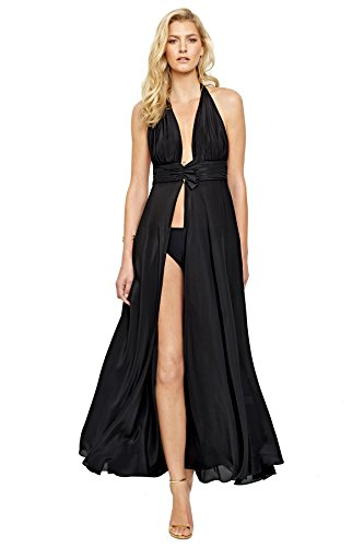Brief Silk Gottex Kelly Grace Black Dress with Matching xUvxOqpg