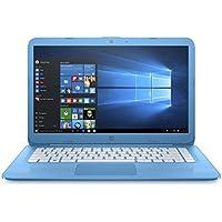 HP Stream Notebook 14-ax030ca 14 Screen, Intel Celeron N3060@1.2GHz, 4 GB RAM, 32 GB eMMC, Aqua Blue, English/French Keyboard (Certified Refurbished)