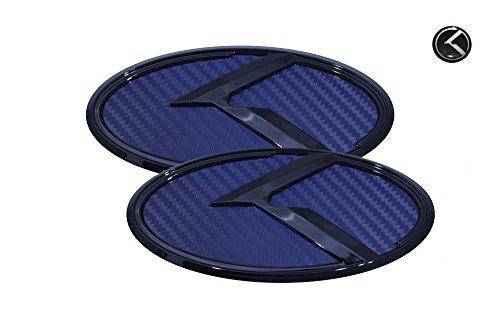3d-k-logo-emblem-blue-carbon-fiber-glossy-black-edition-set-3pc-front-rear-mini-sticker-fit-kia-2014