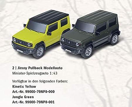 Suzuki Jimny Modellauto Maßstab 1 43 Modell 2018 GrÜn Auto