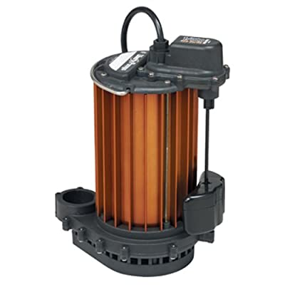 Liberty Pumps 457 Vertical Magnetic Float 1/2 HP Submersible Sump Pump