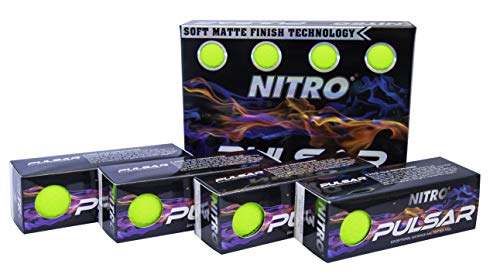 Nitro Pulsar Box Golf Balls (Pack 12), ()