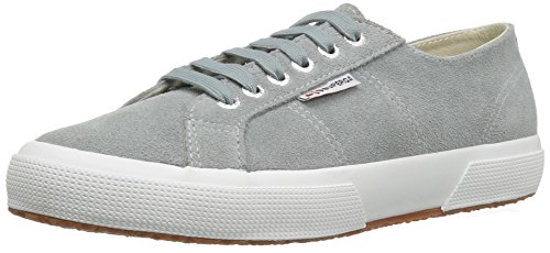 Superga Women's 2750 Sueu Fashion Sneaker, Light Grey, 36 EU/6 M US