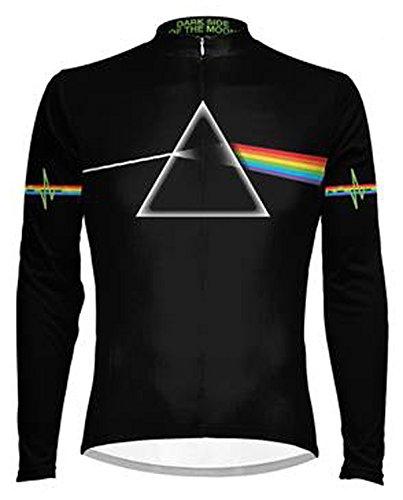 Primal Wear Pink Floyd Dark Side of the Moon Cycling Jersey Men s Large  Long Sleeve 3c35c8eec