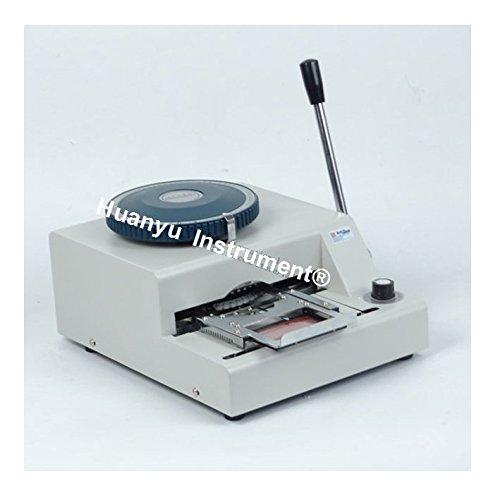 WSDM-68C PVC Card Embosser Manual Name Card Code Printer Embossing Letterpress Rotogravure Printing Machine