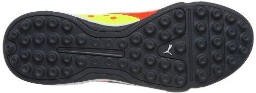 Puma Evopower 3 Tt - Zapatillas de fútbol Rojo (Rot (fluro peach-ombre blue-fluro yellow 01))