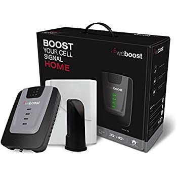 weBoost Home 4G Cell Phone Signal Booster for Home and Office – Ideal for 1,500-Square-Foot Area