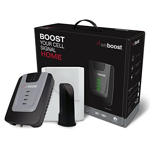 weBoost Home 4G Cell Phone Signal Booster for Home and Office – Ideal for 1,500-Square-Foot Area by weBoost