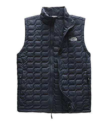 The North Face Men's Thermoball Vest, Urban Navy Matte/Mid Grey, Small (Urban Outfitters Leather Jacket)
