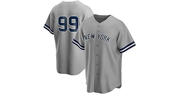 Camiseta De Hombre, MLB Con New York Yankees #99 Judge Diseño ...