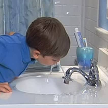 Kwik Sip Original Brass Faucet Fountain (Set of 2) - Faucet ...