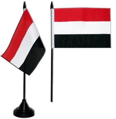 Flaggenfritze/® Tischflagge Jemen 10x15 cm