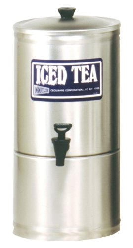 Grindmaster-Cecilware S2 Stainless Steel Iced Tea Dispenser, 2-Gallon by Lee Global Imports and Consulting, Inc.