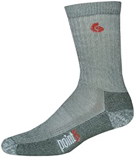 product image for point6 Women's Trekking Heavy Crew Socks