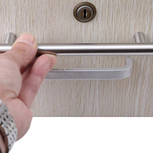 EH-LIFE Kitchen Cupboard T-Bar Cabinet Door Handle Brushed Stainless Steel 12x64x100 by EH-LIFE (Image #3)