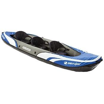 Image of Fishing Kayaks Sevylor Big Basin 3-Person Kayak
