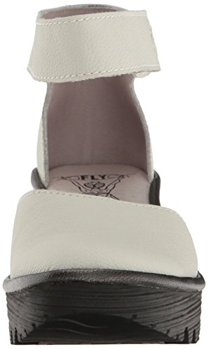 Offwhite Wedges white Off Women's Black Fly London Yand709fly n1qw6Wf7f