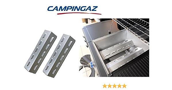 Par – 2 difusores para quemadores austriacos aptos para barbacoa 3 y 4 Series Campingaz