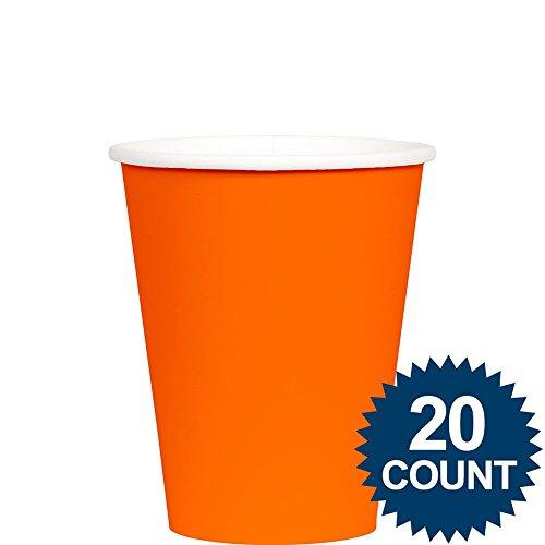 Orange Paper Cups, 24ct
