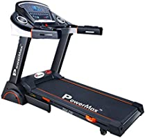 Powermax Fitness TDA-230 2 HP/4 HP Peak Motorized Treadmill