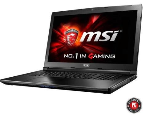 MSI GL72 17.3' 1920x1080 Gaming Laptop (2017), 7th Gen Intel i7-7700HQ quad-core 2.8GHz, Nvidia GeForce GTX 960M 2GB, 8GB RAM, 1TB HDD, 802.11ac, Bluetooth, HDMI, HD Webcam, Win10 Home 64-bit