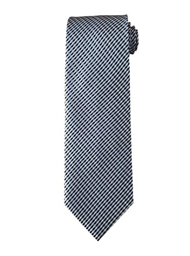 TOM FORD Mens Woven Textured Silk Tie, Blue