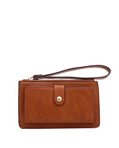 melie-bianco-zane-vegan-leather-wristlet-wallet-saddle