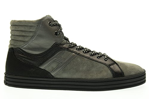 HOGAN REBEL man high HXM1410R283DWH0XD2 R141 BASKETBALL sneakers 45.5 (11)  Grigio   nero  Amazon.co.uk  Shoes   Bags 2aac7e24b04