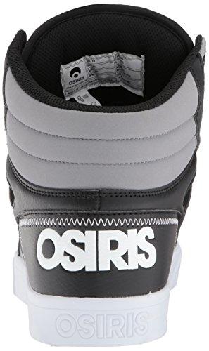 Grey White Clone de Chaussure Basket Osiris Synthétique waFfq7x1