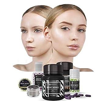 Gift Idea Mayamy Long Lasting Eyebrow Kit Brow Henna Dye Tint 4