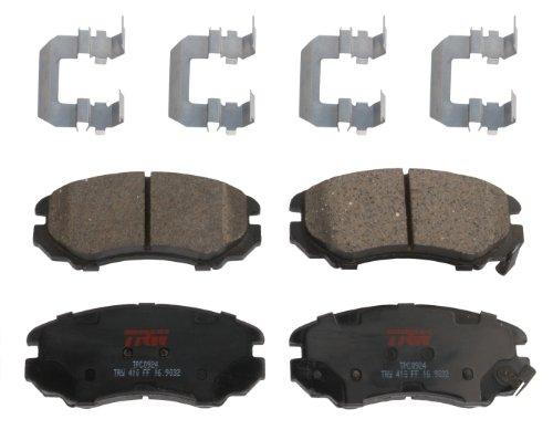 TRW TPC0924 Premium Ceramic Front Disc Brake Pad (Hyundai Sonata Front Brake)