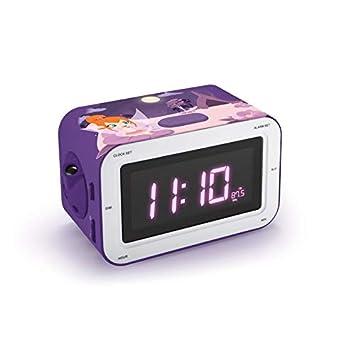Bigben Sound Rr30pfairy4 Radio Réveil Enfant Avec Motif De Fées