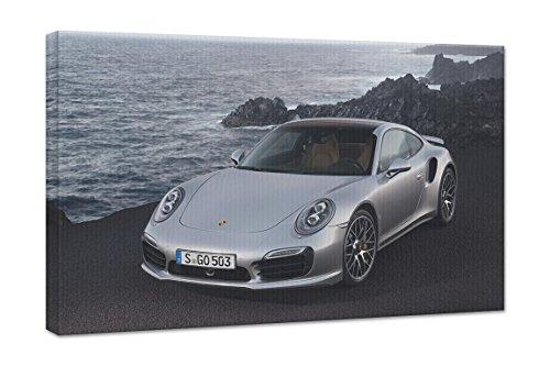 2014 Porsche 911 Turbo S 18X24 Gallery Wrapped 3/4  911 wall art   Porsche Wall Art Project (#12) 41gXinPKTDL