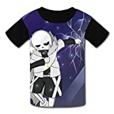 Chengquw Under-Tale Funny Shirt Youth T-Shirt XL