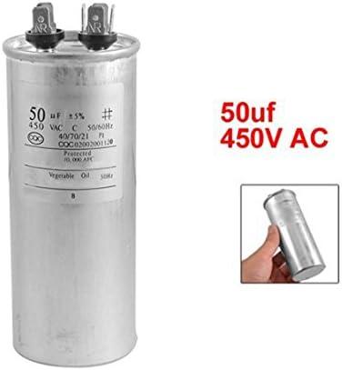 Lopbinte CBB65A-1 Condensateur de Moteur 50uF CA 450V pour Moteur de climatiseur