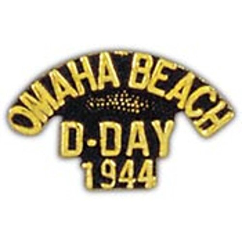 """WWII D-Day Omaha Beach Pin 1"""""""