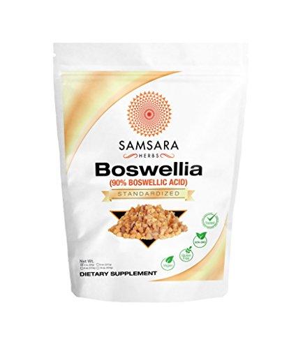 Boswellia Serrata Extract (2oz/57g) - 90% Boswellic Acid   Inflammation   Digestion   Respiratory Support