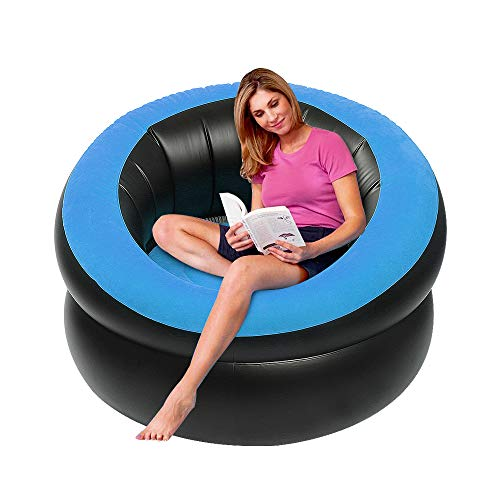 - Inflatable Lounge Chair, Letsfunny Portable Inflatable Sofa Camping Chair Seats for Camping, Hiking,Swimming Pool or Home Chairs Furniture, 40
