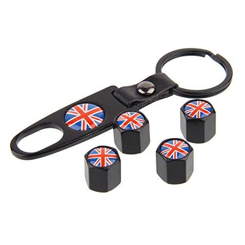 Valvole Set UK Nero incluso Keychain