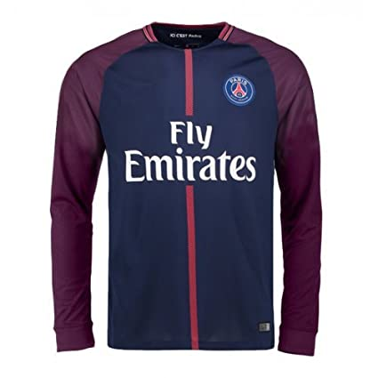 premium selection 5c489 9e417 Buy PSG Home Jersey Kit for Adults - Full Sleeve - L Online ...