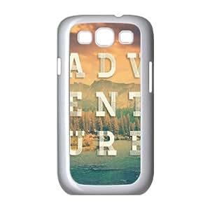 Samsung Galaxy S3 9300 Cell Phone Case White_Adventure Gtleb