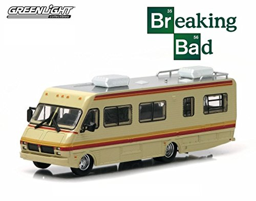 GREENLIGHT 1:64 HOLLYWOOD - BREAKING BAD TV SERIES 1986 FLEETWOOD BOUNDER RV