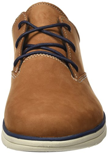 Timberland Bradstreet Pt Oxfordsaddle Nubuck, Oxford para Hombre Marrón (Saddle Nubuck)