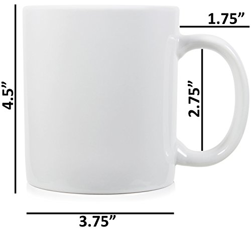 Serami 20oz Extra Large Classic Mugs for Coffee or Tea. Large Handle and Ceramic Construction, Set of 4 by Serami (Image #2)